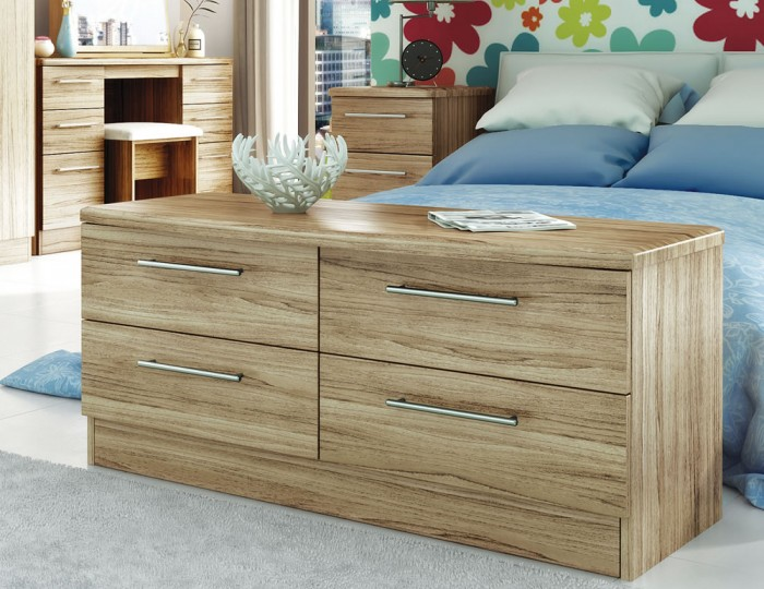 New Sherwood 4 Drawer Bed Box Chest