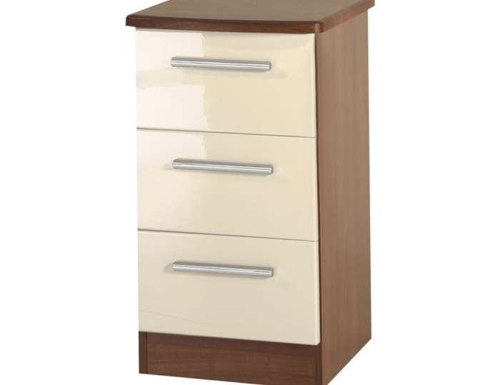 Rook Mix 'n' Match 3 Drawer Bedside
