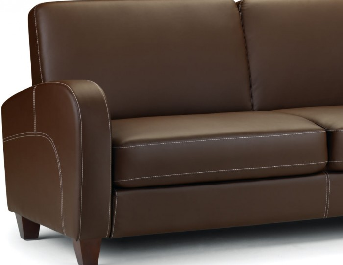Vivo 3 Seater Faux Leather Sofa