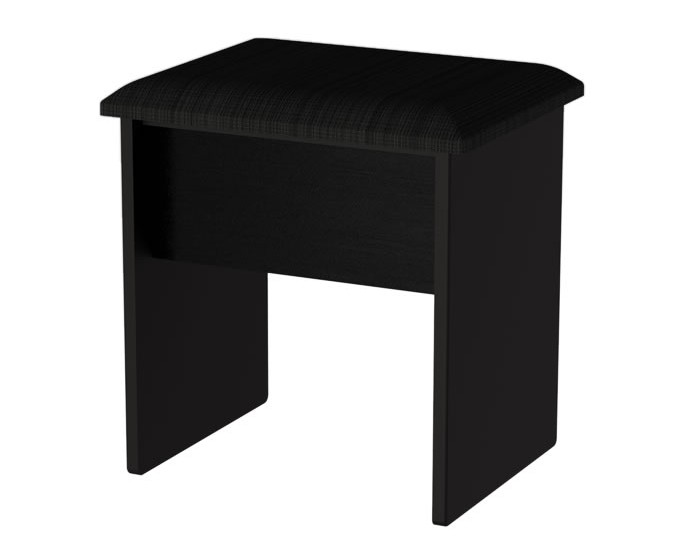 Knight Double Black High Gloss Dressing Table