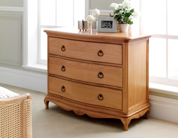 Grace Solid Oak 3 Drawer Chest