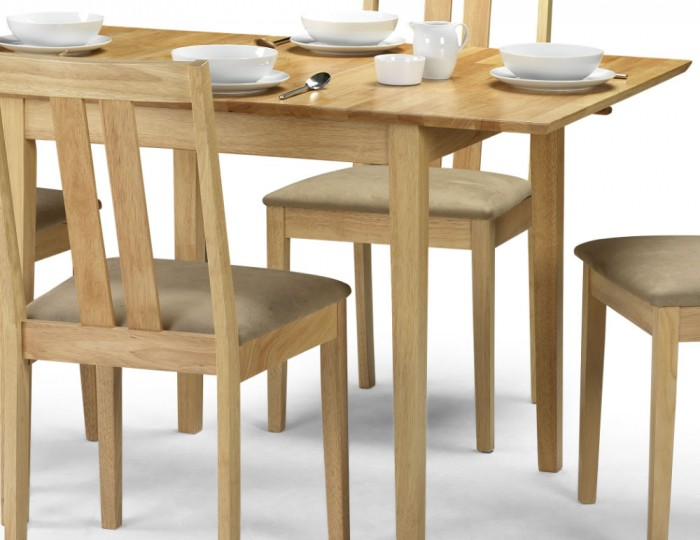 Rufford Natural Wooden Extending Dining Table