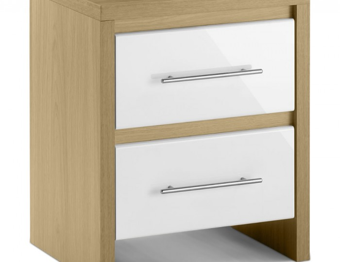 Helsinki High Gloss Bedside Chest