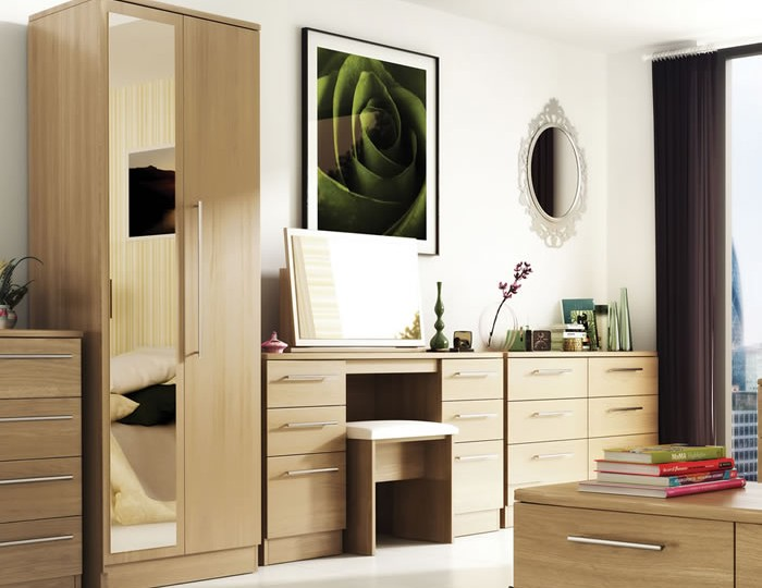 New Sherwood 2 Door Mirrored Wardrobe