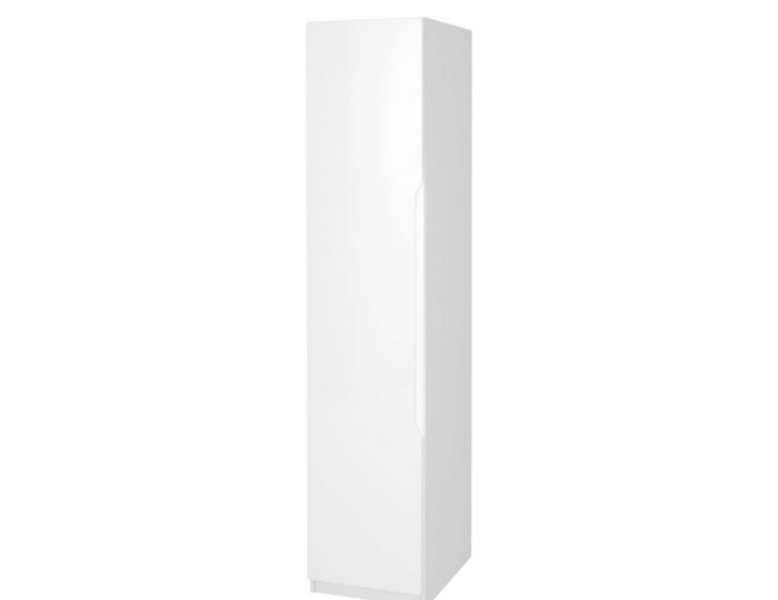 Trend 1 Door White High Gloss Wardrobe