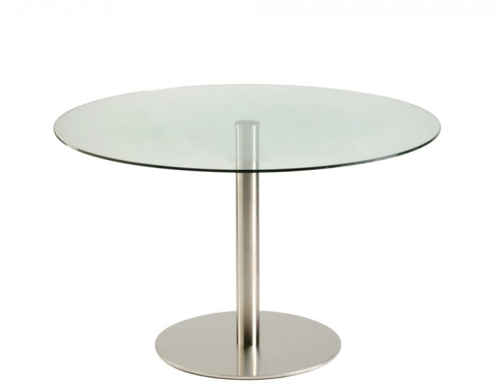 Zamora Round Glass Kitchen Table