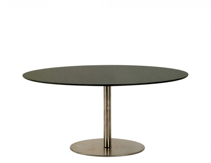 Lugo Oval Granite Dining Table