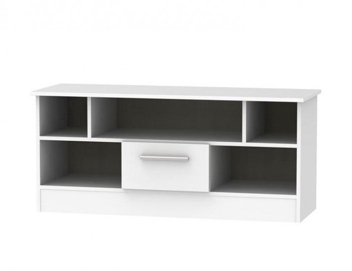 Vista High Gloss Open TV Unit