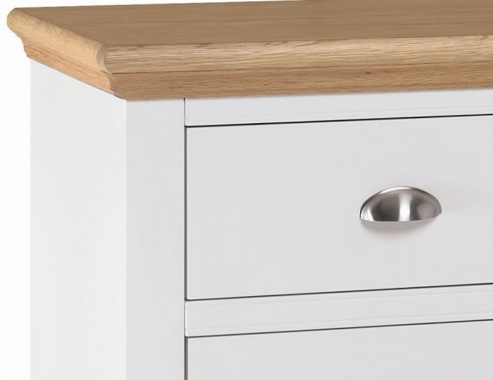 Hampstead Two-Tone 2+2 Drawer Chest