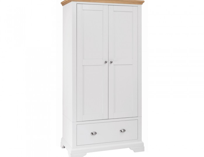 Hampstead Two-Tone Double Wardrobe