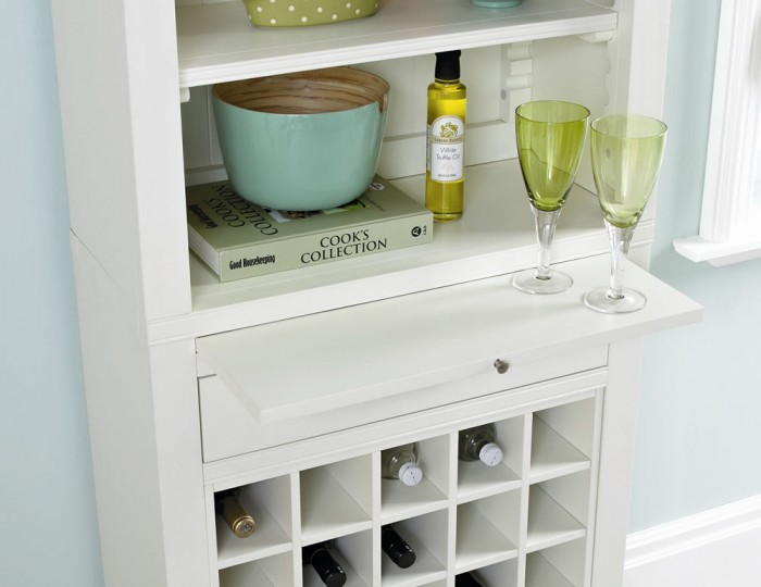 Hampstead Two-Tone Wine Unit