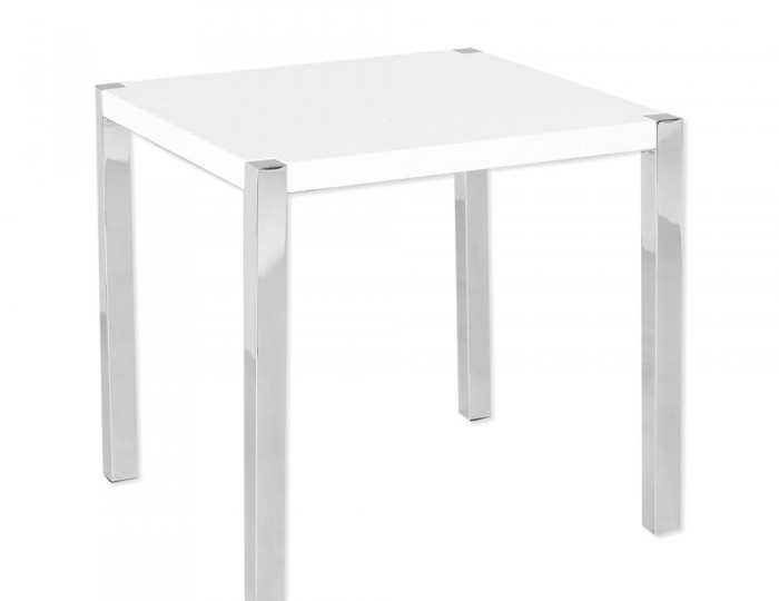 Theo White High Gloss Lamp Table