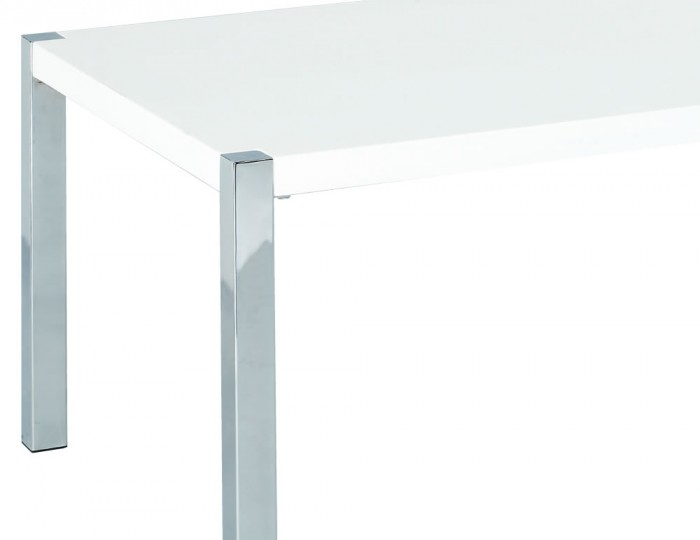 Theo White High Gloss Coffee Table