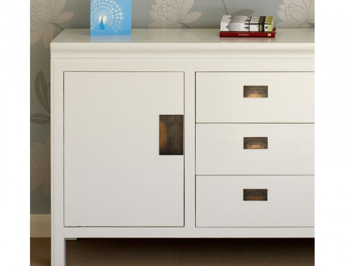 Peking Off-White Large Sideboard