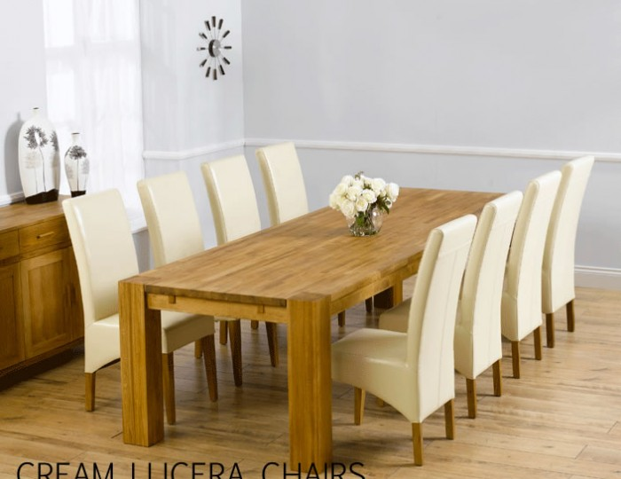 Madrid Oak Extending Dining Table and Chairs