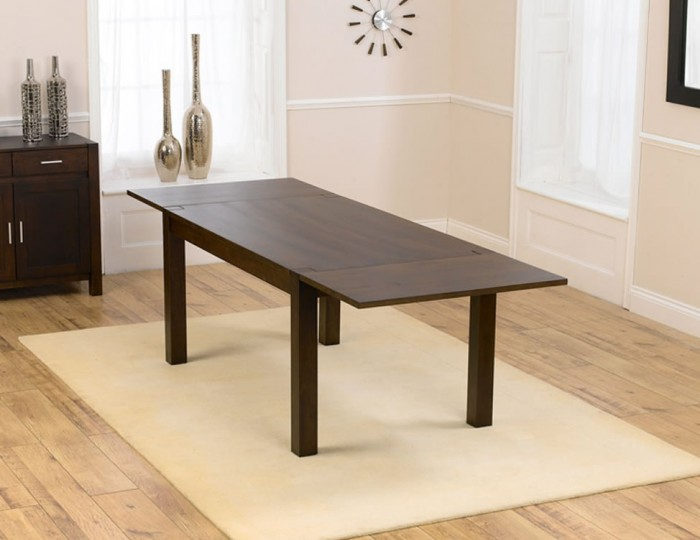 whistler dark oak 150cm extending dining table and chairs uk