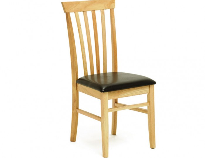 Maria Oak Slatted Dining Chair