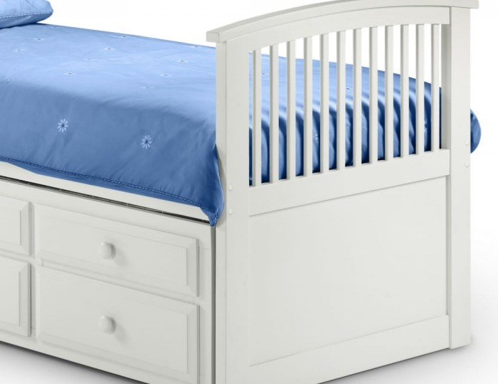 Hornblower White Cabin Bed