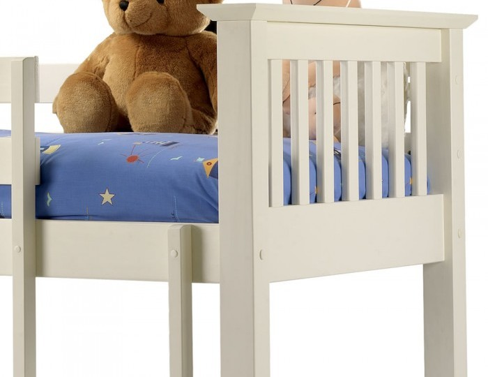 Cameo Off-White Childrens Bunk Bed