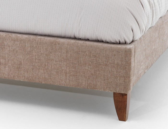 Lotty Mink Upholstered Bed