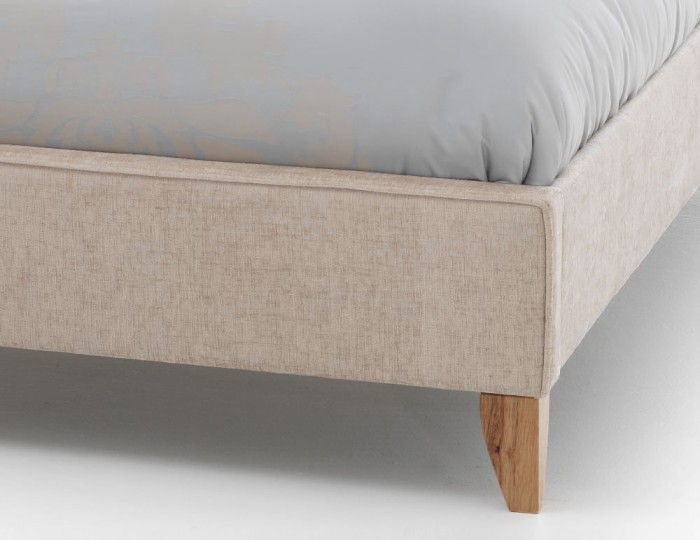 Charlee Cream Upholstered Bed