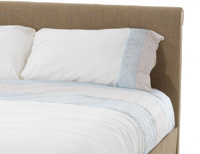 Henri Wholemeal Upholstered Bed
