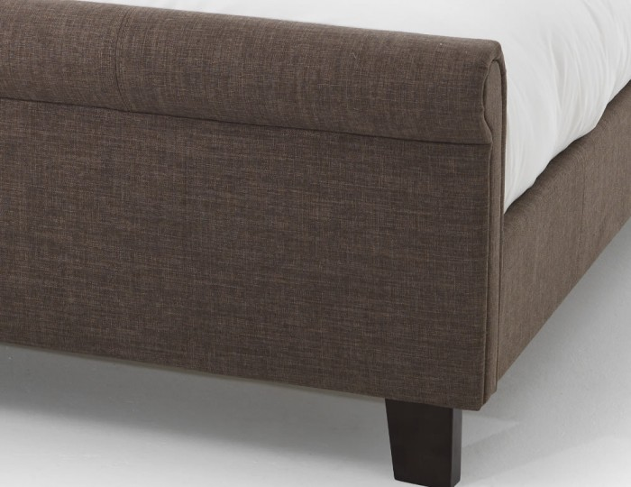 Henri Chocolate Upholstered Bed
