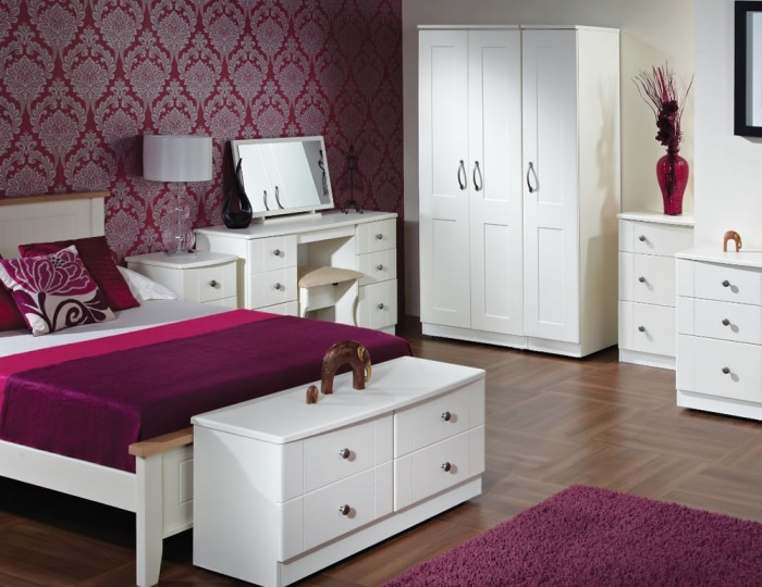 Amazon White 5 Drawer Narrow Chest
