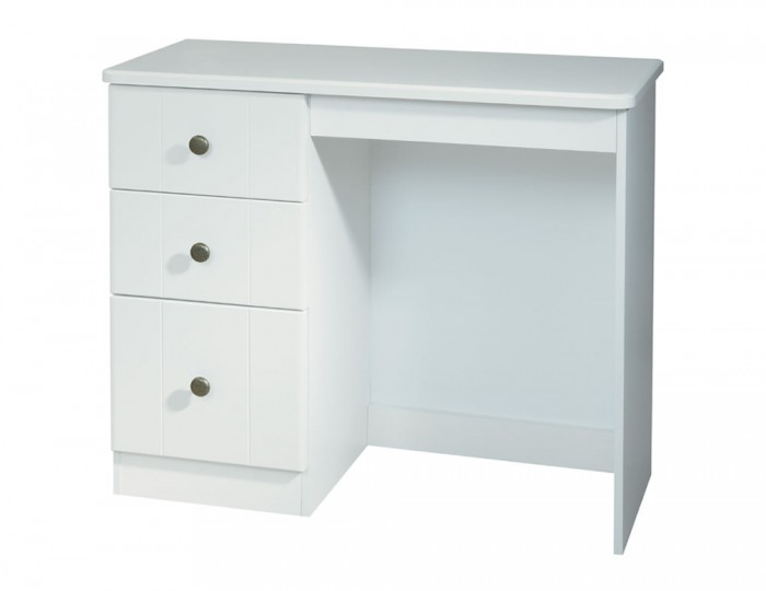Amazon White Single Dressing Table