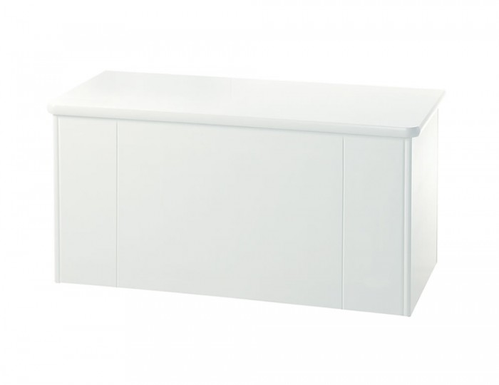 Amazon White Blanket Box