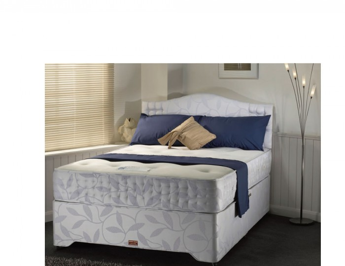 Buckingham pocket sprung divan set for Pocket sprung divan set