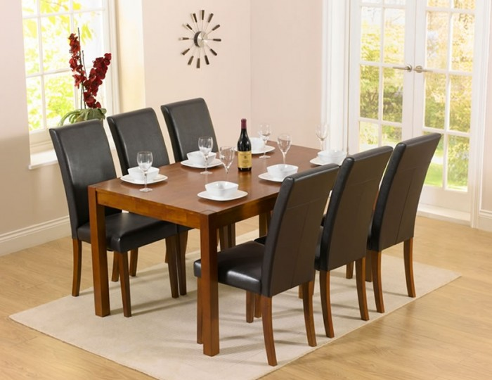 Withern Dark Oak Dining Set