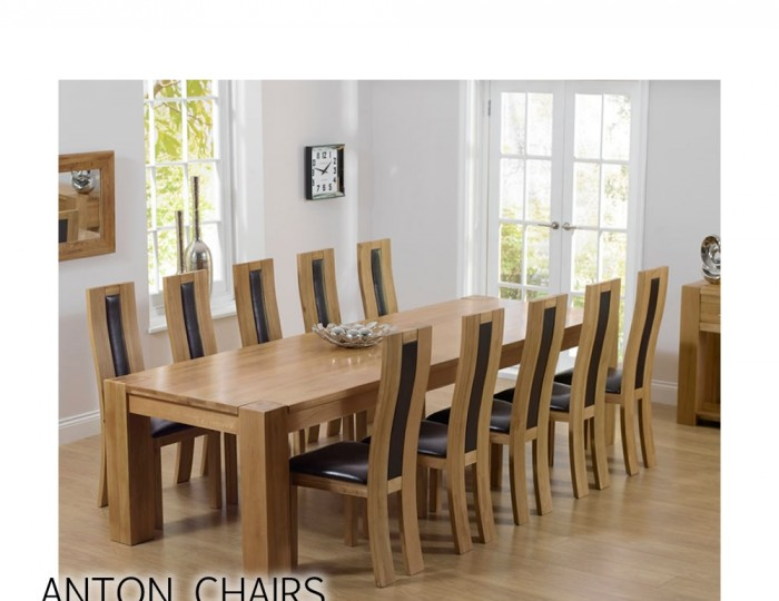 Ancaster Oak Dining Table and Chairs