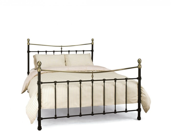 Edwardian II Black Metal Bed Frame