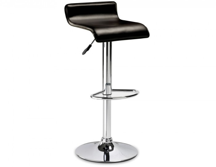 Stratos Brown Faux Leather Gas Lift Bar Stool : 73671 from www.franceshunt.co.uk size 700 x 540 jpeg 21kB