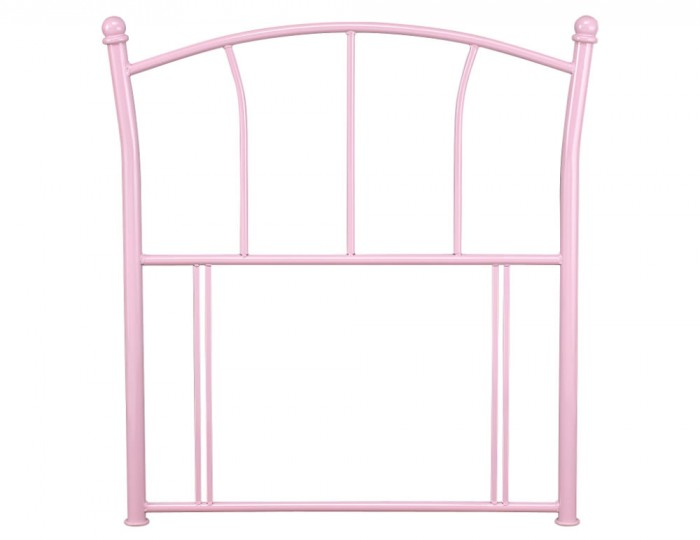 Penelope Pink Childrens Metal Headboard