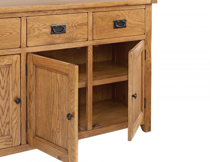 Hereford Oak Large Sideboard