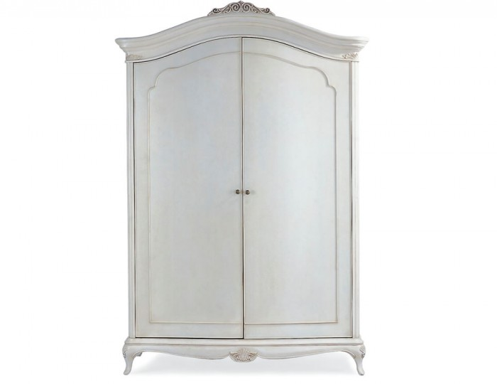 Ivy 2 Door Wooden Wardrobe