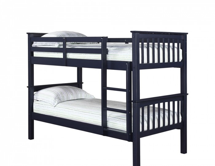 Albany Navy Blue Bunk Bed