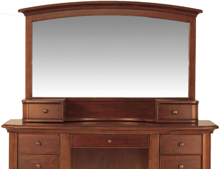 Chambery Single Cherry Wooden Dressing Table