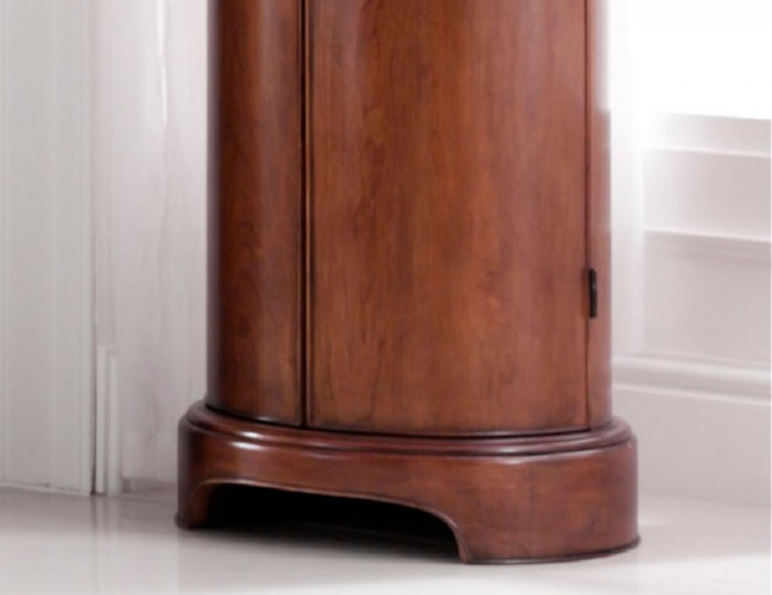 Chambery Cherry Wooden Storage Cabinet