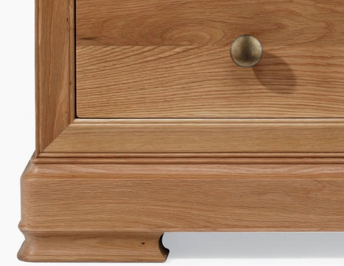 Nancy Oak 7 Drawer Tall Chest