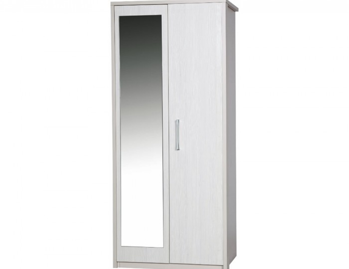 Hulsen 2 Door Wardrobe with Mirror