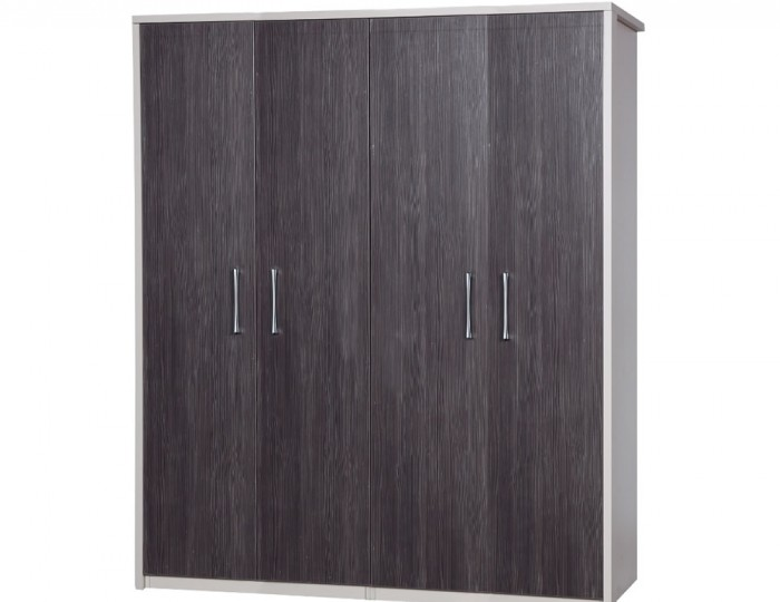 Hulsen 4 Door Wardrobe