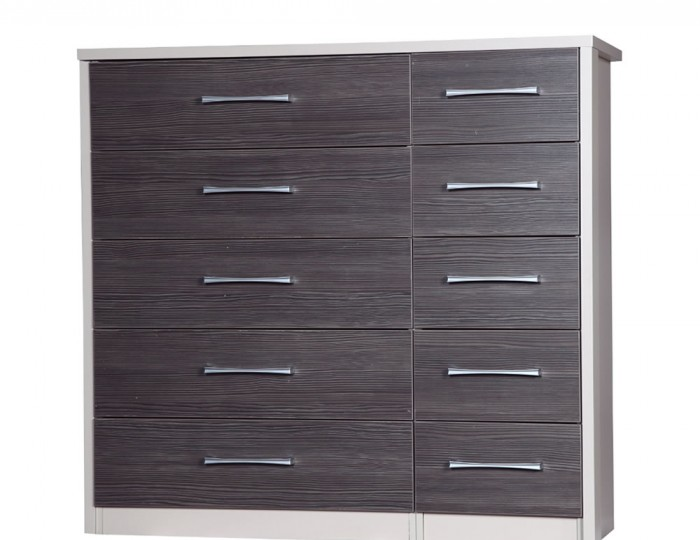 Hulsen 10 Drawer Wide Chest