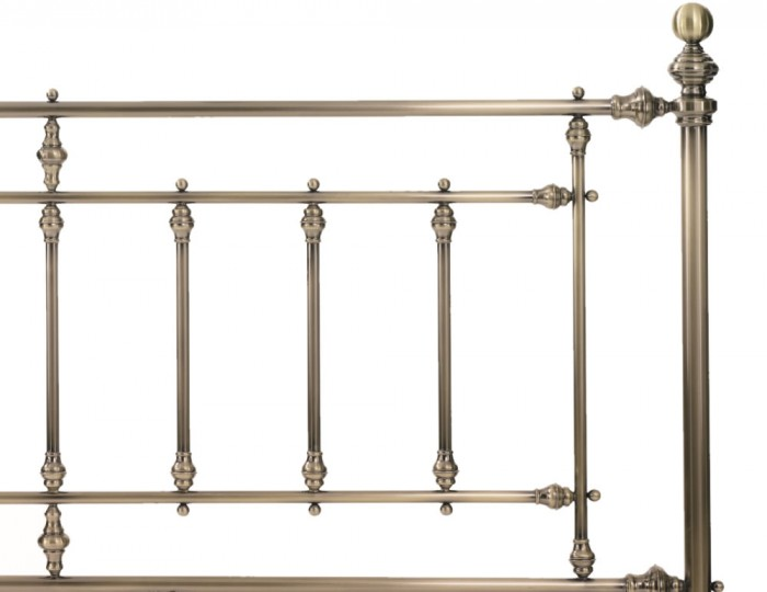 Imperial Antique Brass Metal Bed Frame