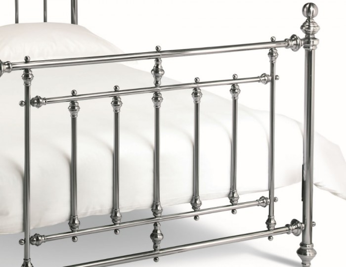 Imperial Nickel Metal Bed Frame