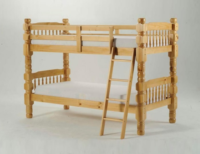 Meir Honey Chunky Bunk Bed