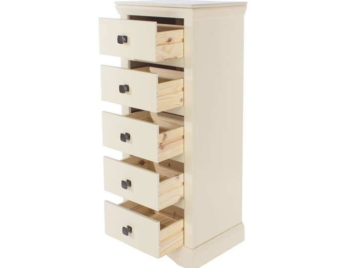 Cormano 5 Drawer Narrow Chest