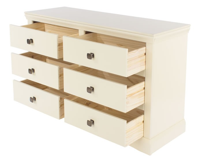 Cormano 6 Drawer Wide Chest